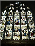 TQ2475 : All Saints, Fulham: stained glass window (7) by Basher Eyre