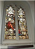TQ2475 : All Saints, Fulham: stained glass window (11) by Basher Eyre
