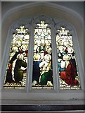 TQ2475 : All Saints, Fulham: stained glass window (14) by Basher Eyre