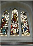 TQ2475 : All Saints, Fulham: stained glass window (17) by Basher Eyre
