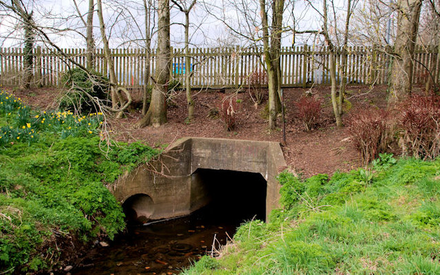 Culvert, Knock River, Belfast