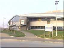 SJ8798 : The National Cycling Centre - Velodrome by Anthony Parkes