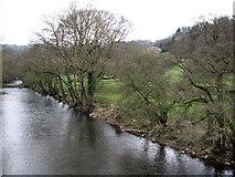 SK2957 : The Derwent from Cromford Bridge by John Sutton