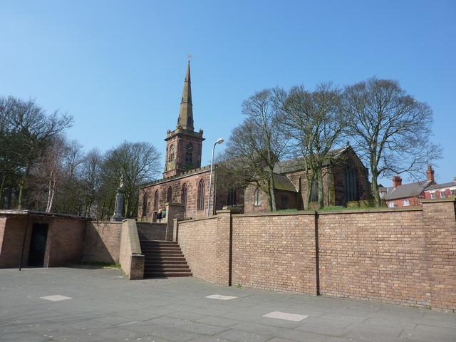 St Mary's Parish Church, Prescot