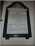 TQ2475 : All Saints, Fulham: memorial (18) by Basher Eyre