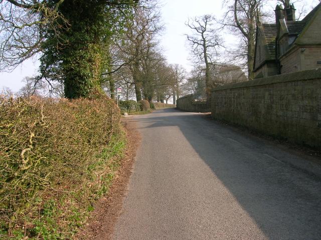 Road to Stanton in Peak