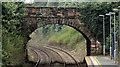 J4180 : Road bridge, Cultra station by Albert Bridge