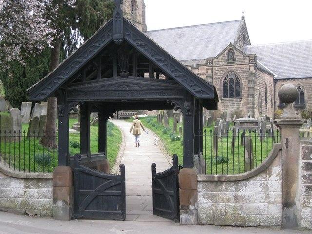 Lychgate, St Giles' Church, Old Matlock