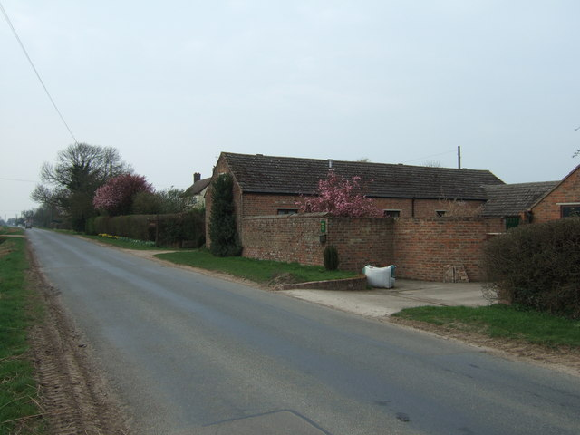 Converted farm buildings near Barrowby House, Northgate