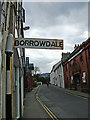 NY2623 : Signpost to Borrowdale by michael ely