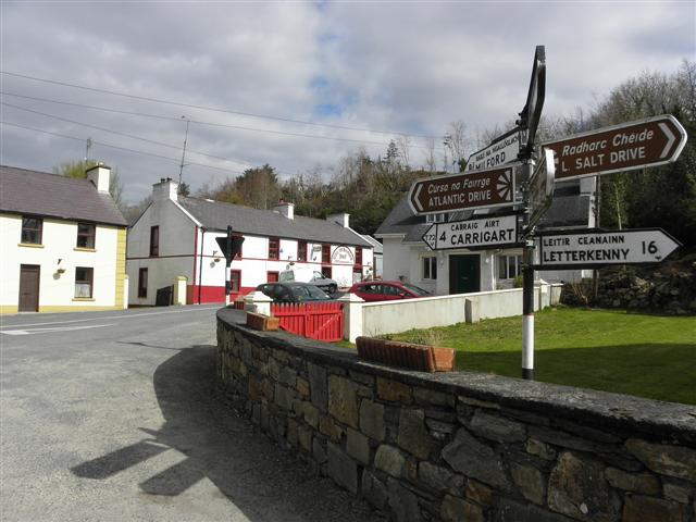 Road signs, Glen