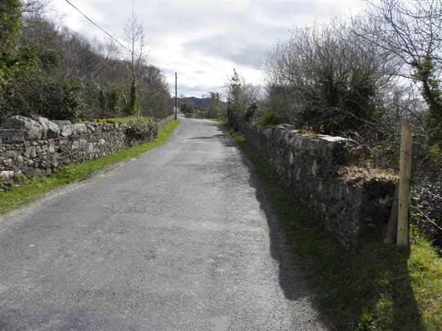 Road at Glenineeny