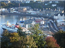 NM8529 : Oban Ferry Terminal from Pulpit Hill by Rob Newman