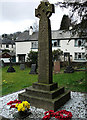 SD3097 : War memorial, St Andrew's churchyard, Coniston by michael ely