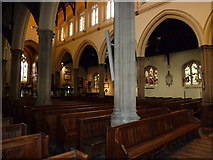 TQ2475 : All Saints, Fulham: nave by Basher Eyre