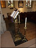 TQ2475 : All Saints, Fulham: lectern by Basher Eyre