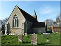 TQ1116 : Holy Sepulchre, Warminghurst: graves by Basher Eyre