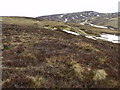 NN6670 : Slopes above Allt Choire Leathanaidh near Dalnaspidal by ian shiell