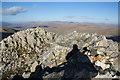 NY2307 : The summit of Esk Pike by Bill Boaden