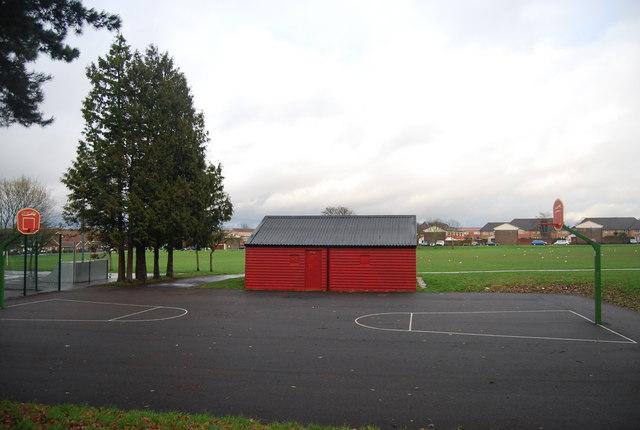 Basketball Court Roundshaw Park 169 N Chadwick Geograph