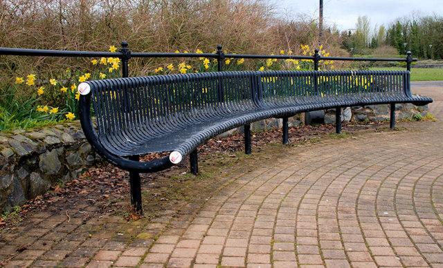 Seats, Hazelbank Park, Newtownabbey