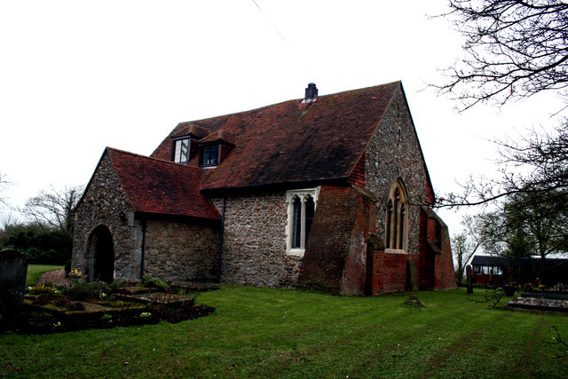 Essex:  Former St. Michael's Church, Lastingdon