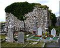 R2096 : Noughaval Church, Ruins of by Roger Diel