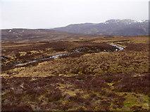 NN6667 : Allt Leathad Easain on its way south to Loch Errochty by ian shiell
