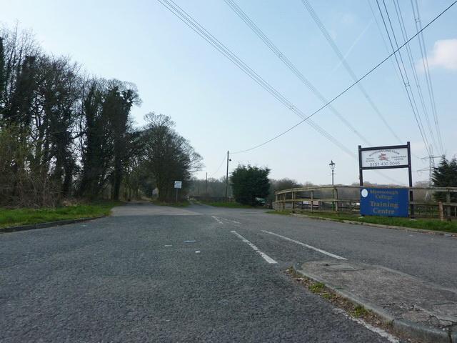 Road to Burrows Lane Farm