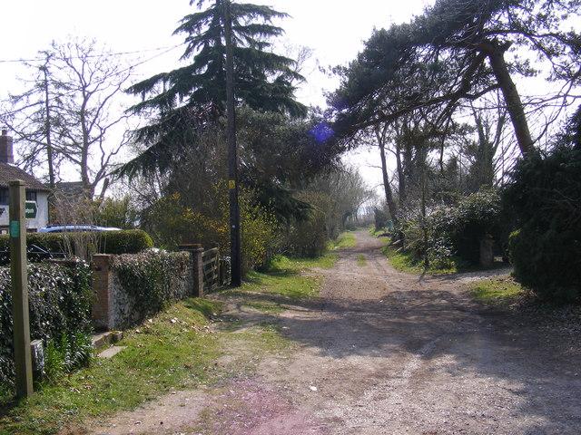 Footpath to Snape Warren