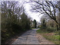 TM3958 : Priory Road, Snape by Adrian Cable