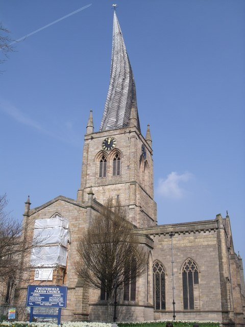 Parish Church, Chesterfield (crooked spire)