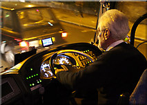 TQ1977 : Night Drive by Martin Addison