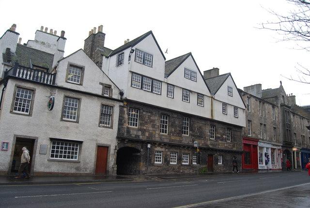 Huntly House (Museum of Edinburgh), Canongate