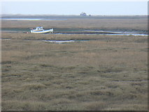 TG0345 : View Over Cley Channel by Colin Smith