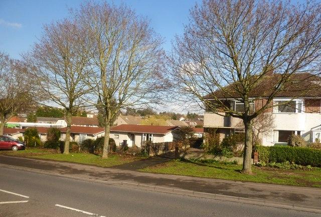Houses in Falcondale Road, Westbury-on-Trym, Bristol