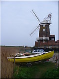 TG0444 : Cley Windmill by Colin Smith