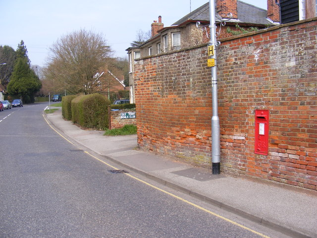 B1121 North Entrance & North Entrance George V Postbox