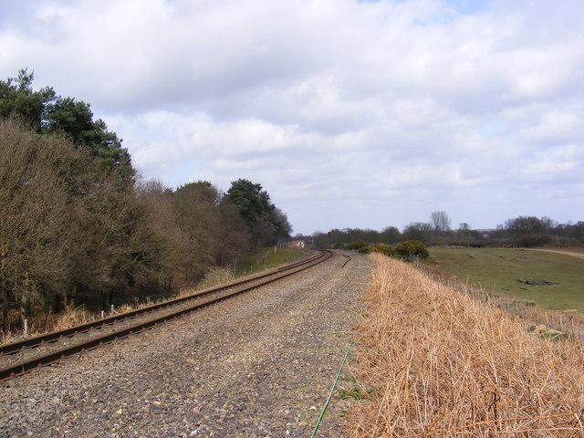 Railway Lines to Saxmundham