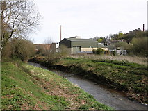 ST0642 : Wansborough Paper Mill, Watchet by Roger Cornfoot