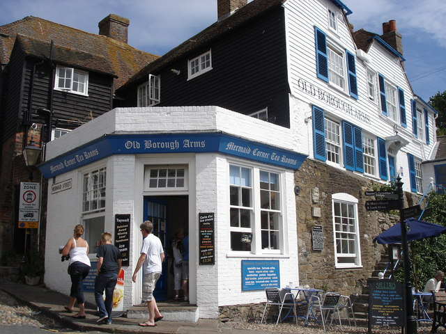 Rye - Mermaid Corner Tea Rooms