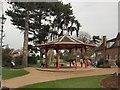 TQ1730 : Bandstand - Horsham Park by Paul Gillett