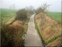 SK2169 : Monsal Trail - north of Baslow Road Bridge by John M