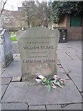 TQ3282 : William Blake's gravestone (2), Bunhill Fields by Rich Tea