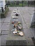 TQ3282 : William Blake's gravestone (4), Bunhill Fields by Rich Tea