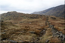 NY4008 : The path from Pike How to St Raven's Edge by Bill Boaden