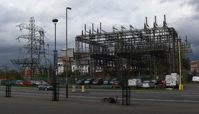 Eastern Boulevard electricity substation