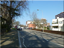 SU4212 : Lamppost in Palmerston Road by Basher Eyre