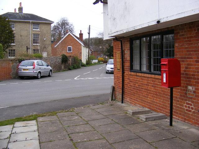 Church Lane & Post Office Postbox