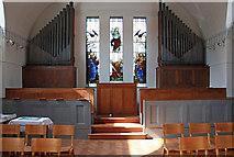 TQ2776 : Christ Church & St Stephen, Battersea Park Road - Organ by John Salmon